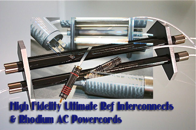 ultimate reference interconnects rhodium ac powercords. Black Bedroom Furniture Sets. Home Design Ideas