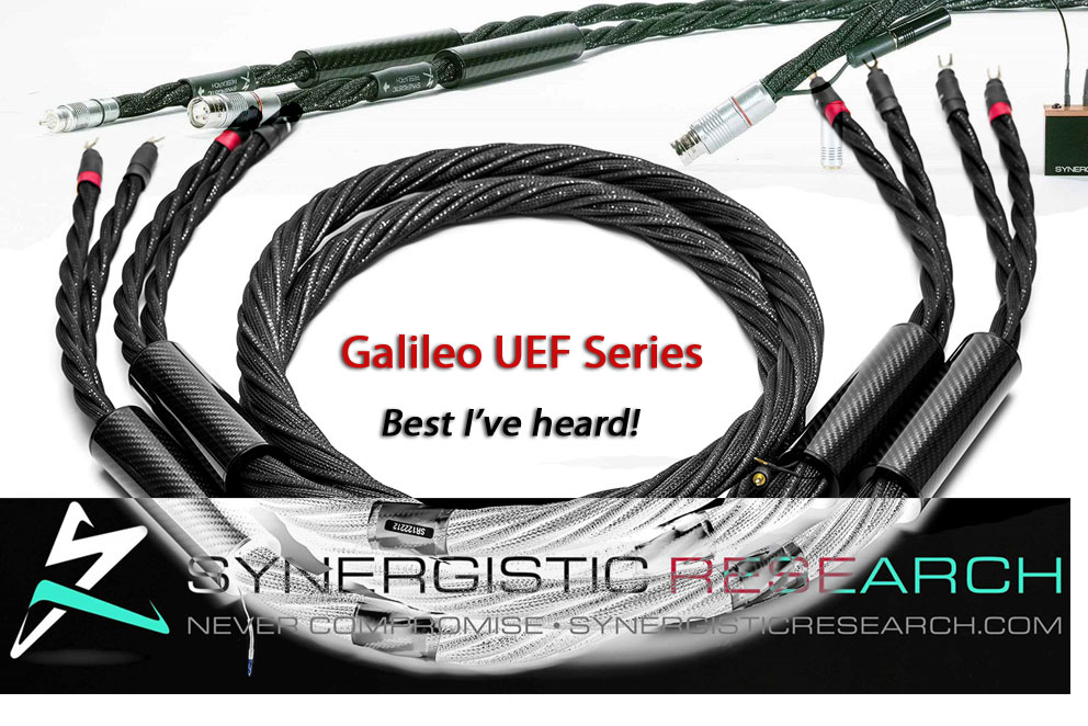 Synergistic Research Galileo Uef Series Cables